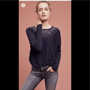 Anthropologie Sweaters - Knotted confetti pullover